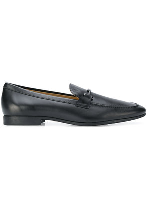Tod's buckle-detailed loafers - Black