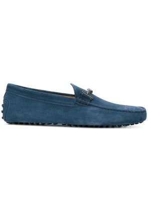 Tod's Double T Gommino loafers - Blue
