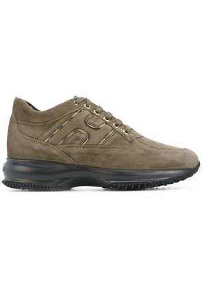 Hogan lace-up sneakers - Green