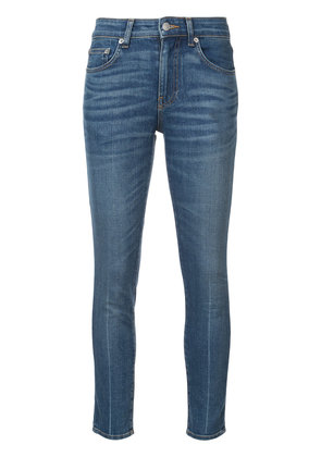 Brock Collection skinny cropped jeans - Blue