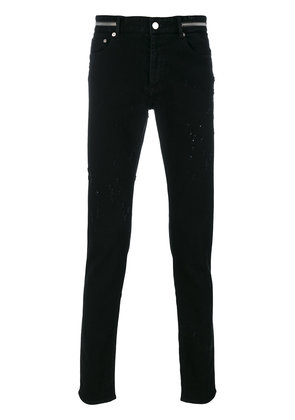 Givenchy distressed slim fit jeans - Black