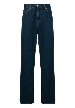 Our Legacy embroidered pocket jeans - Blue