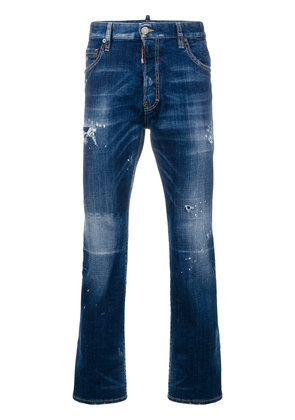 Dsquared2 distressed jeans - Blue