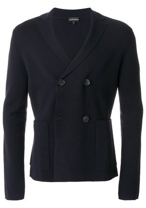 Emporio Armani double-breasted blazer - Blue