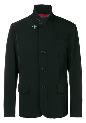 Fay buttoned collar jacket - Black