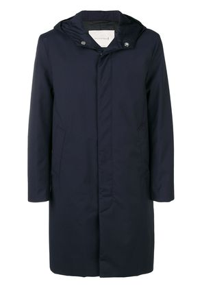 Mackintosh down filled hooded rain jacket - Blue