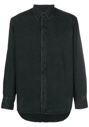 Rag & Bone concealed fastening denim shirt - Black