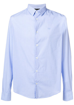 Emporio Armani striped shirt - Blue