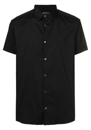 Emporio Armani short sleeve shirt - Black