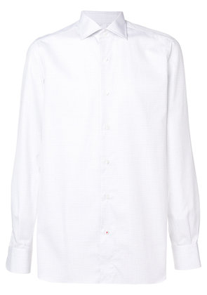 Isaia classic button fastened shirt - White