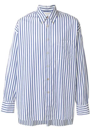 Our Legacy striped long-sleeve shirt - Blue