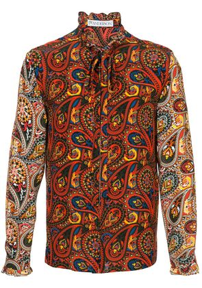 JW Anderson paisley-print shirt - Red
