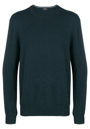 Z Zegna loose fitted sweater - Green