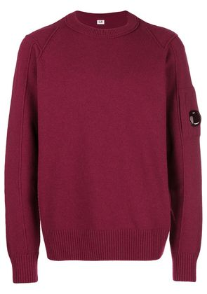 CP Company crew neck sweater - Red