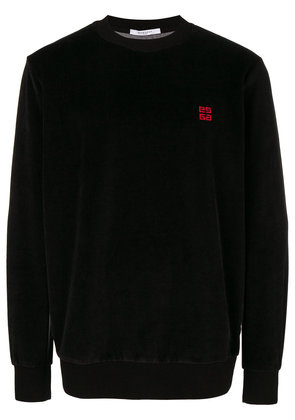 Givenchy 4G embroidered sweatshirt - Black