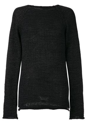 Lost & Found Ria Dunn classic fitted sweater - Black