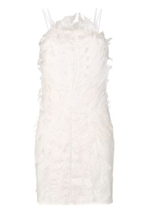 Yes Master embroidered night dress - White