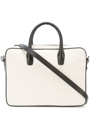 Mansur Gavriel small briefcase bag - Nude & Neutrals