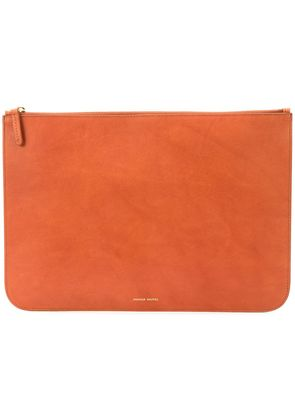 Mansur Gavriel laptop pouch bag - Brown