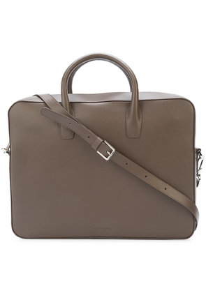Mansur Gavriel classic briefcase - Brown