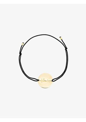 Malaika Raiss black plaquette Thunder bracelet