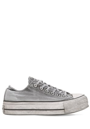 CHUCK TAYLOR OX LIFT CANVAS SNEAKERS