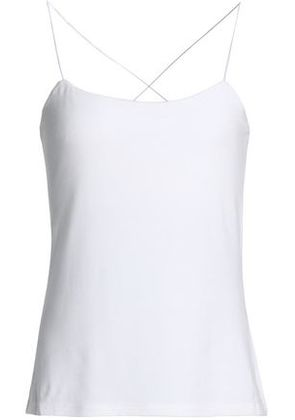 T By Alexander Wang Woman Cutout Stretch-modal Jersey Camisole White Size S