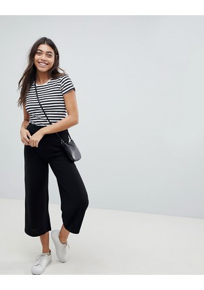 ASOS DESIGN knitted culottes - Black