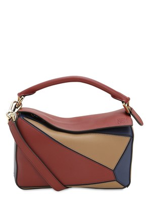 SMALL PUZZLE MULTI LEATHER BAG