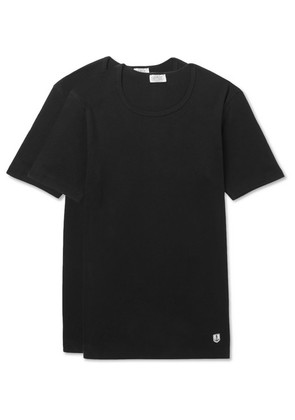 Two-pack Cotton-jersey T-shirts