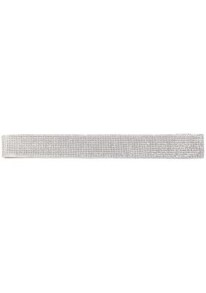 Dolce & Gabbana crystal embellished belt - Metallic