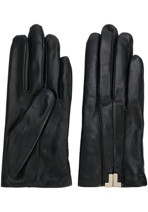 Lanvin classic fitted gloves - Black