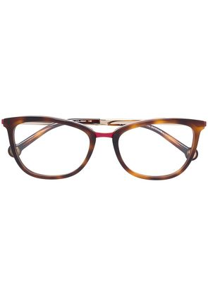 Ch Carolina Herrera cat-eye glasses - Brown