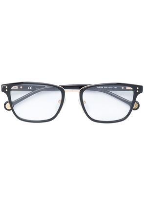 Ch Carolina Herrera rectangular shape glasses - Black