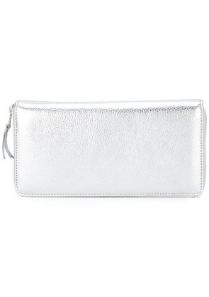 Comme Des Garçons Wallet zip around wallet - Metallic