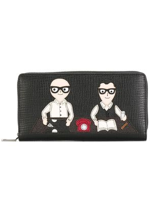 Dolce & Gabbana graphic print wallet - Black