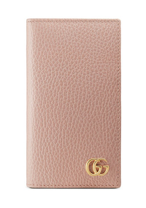 Gucci IPhone 7 GG Marmont Case-Wallet - Pink & Purple