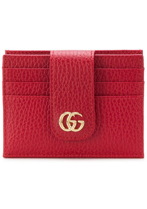 Gucci GG Marmont cardholder - Red