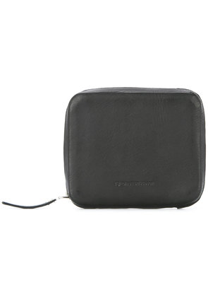 Ed Robert Judson zip around wallet - Black