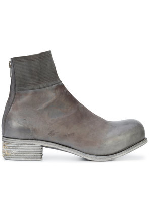A Diciannoveventitre Kangaroo knitted top band boots - Grey