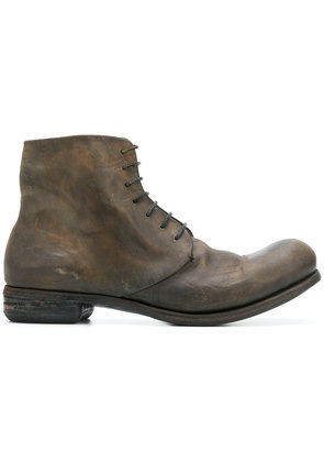 A Diciannoveventitre DC2 horse oil boots - Brown