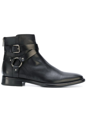 Dolce & Gabbana buckled ankle boots - Black