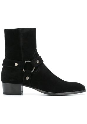 Saint Laurent Wyatt boots - Black