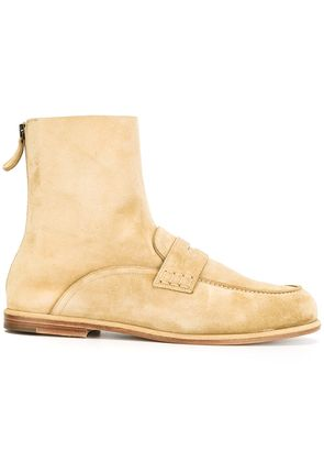 Loewe loafer ankle boots - Nude & Neutrals