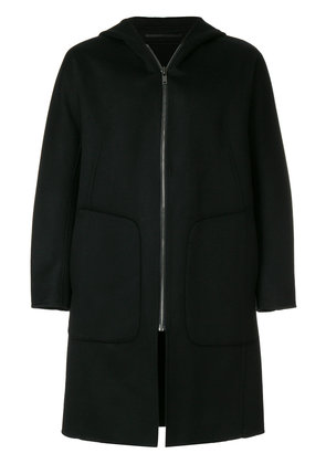Theory double-faced duffle coat - Black