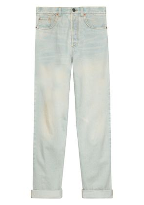 Gucci 80s stone washed jeans - Blue