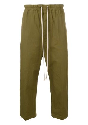 Rick Owens cropped trousers - Green