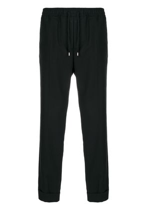 Gucci drawstring cropped trousers - Black
