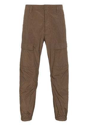 Prada Cropped cargo trousers - Brown