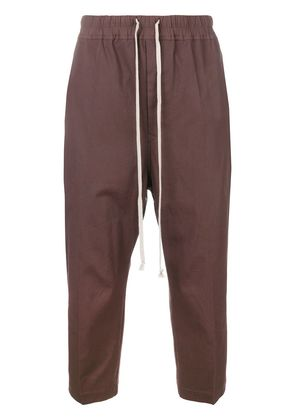 Rick Owens cropped trousers - Brown